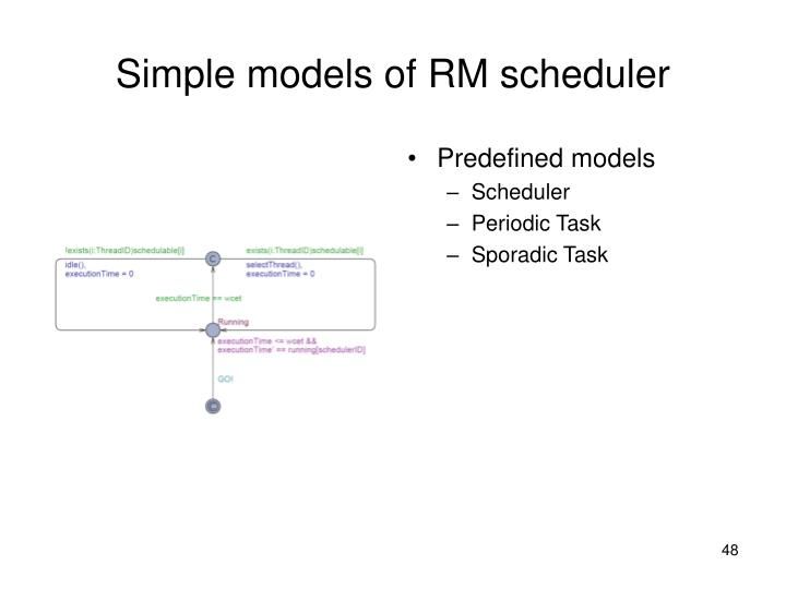 Predefined models