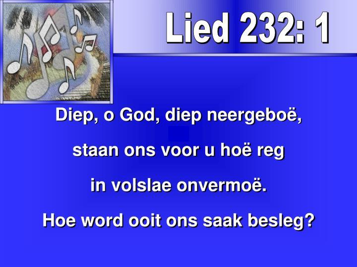 Lied 232: 1