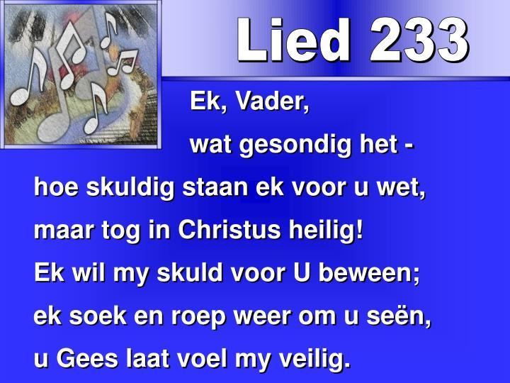 Lied 233