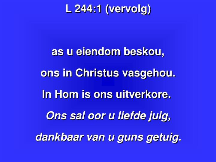 L 244:1 (vervolg)