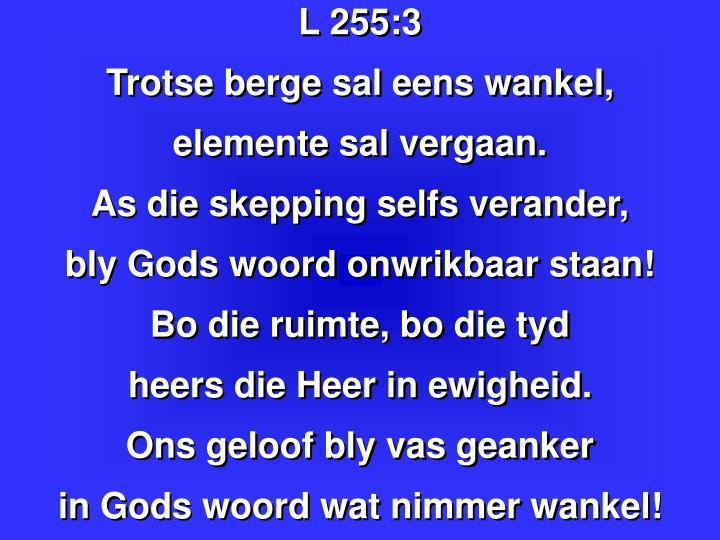L 255: