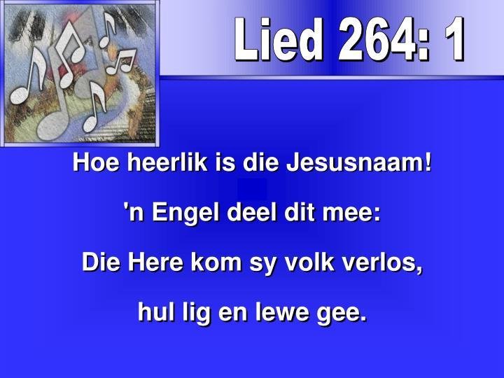Lied 264: 1