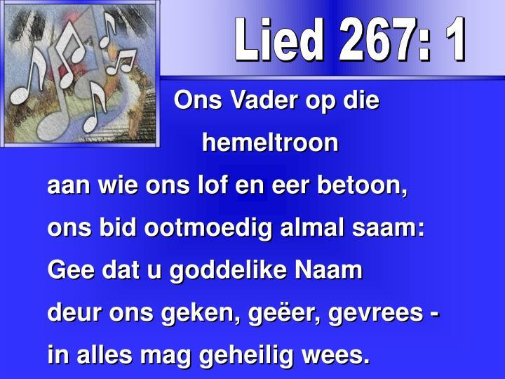 Lied 267: 1