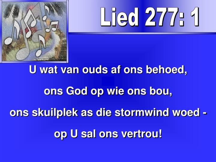 Lied 277: 1