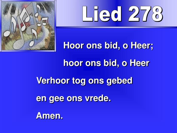 Lied 278