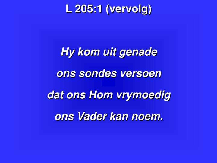L 205:1 (vervolg)