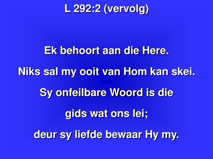 L 292:2 (vervolg)