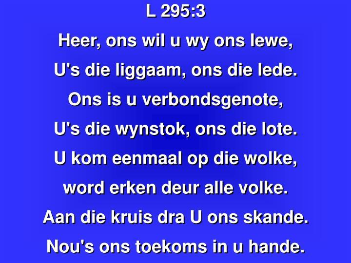 L 295: