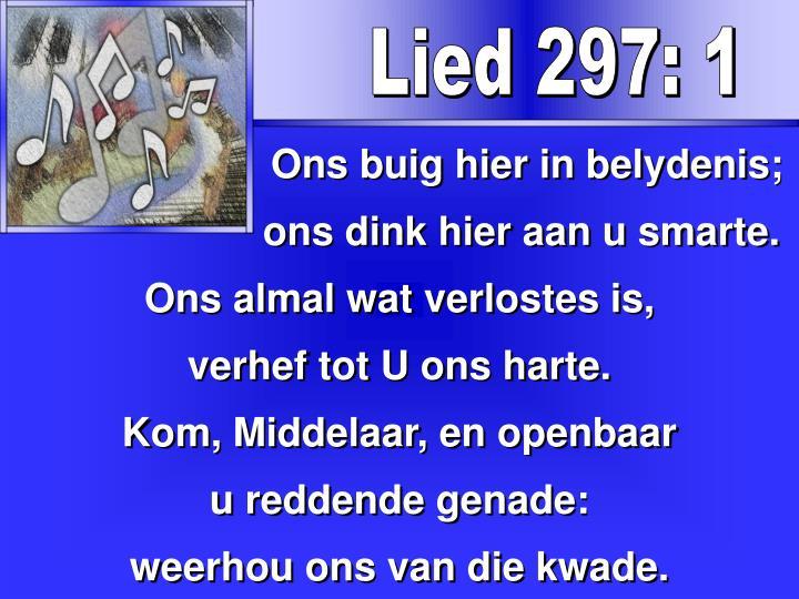 Lied 297: 1