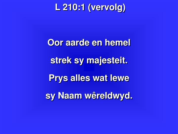 L 210:1 (vervolg)