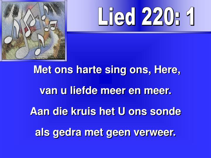 Lied 220: 1