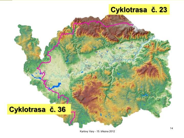 Cyklotrasa  č. 23