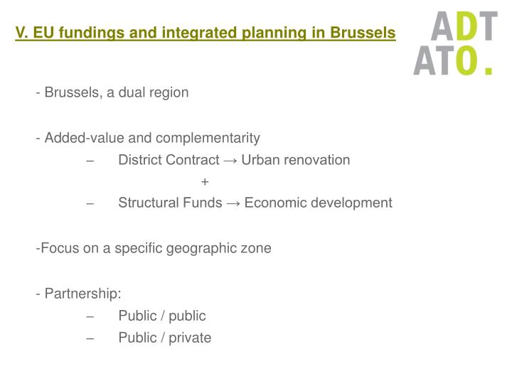 - Brussels, a dual region