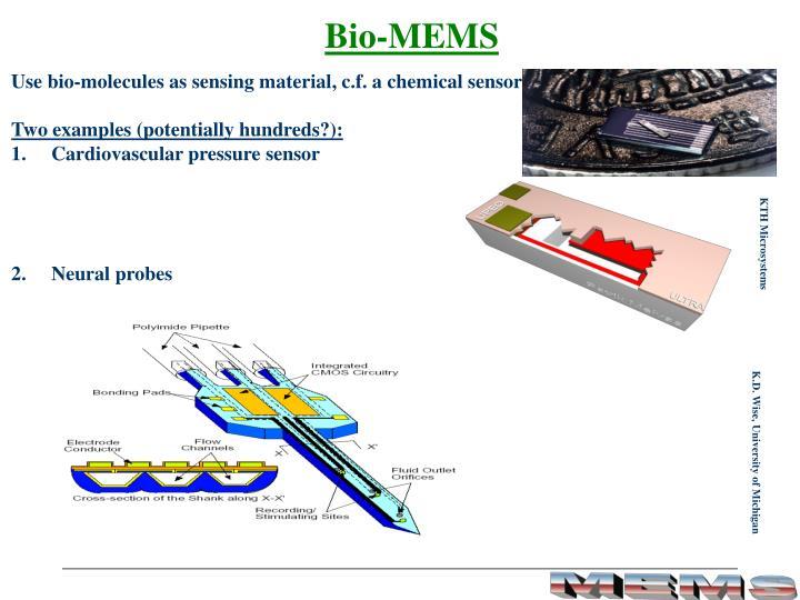 Bio-MEMS