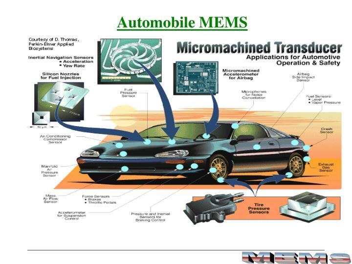 Automobile MEMS