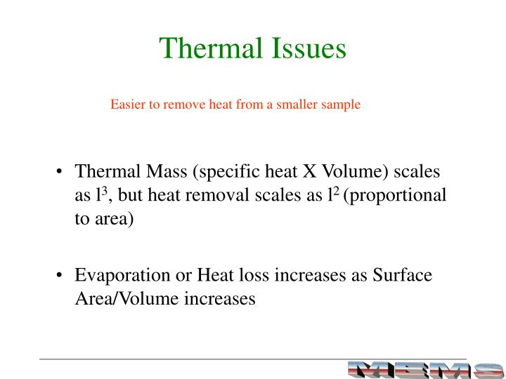 Thermal Issues