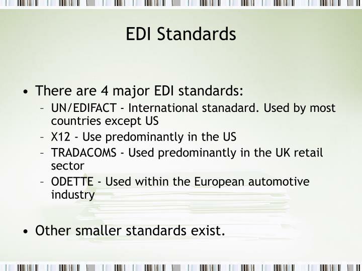 EDI Standards