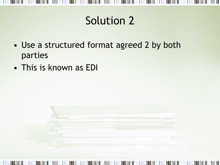 Solution 2