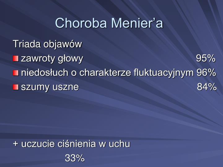 Choroba Menier'a