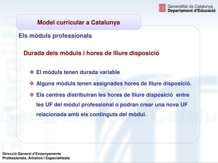 Els mòduls professionals