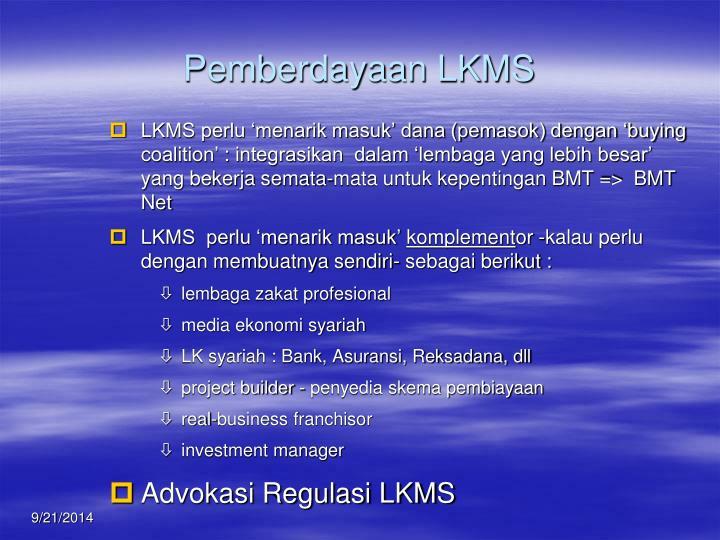 Pemberdayaan LKMS