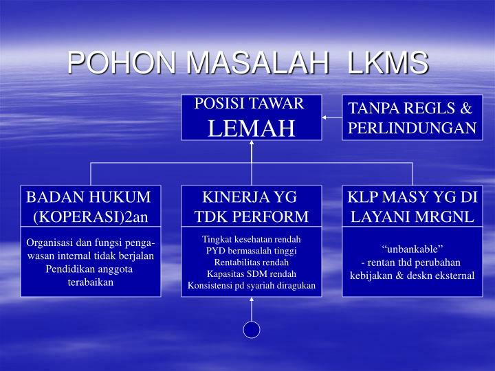 POHON MASALAH  LKMS