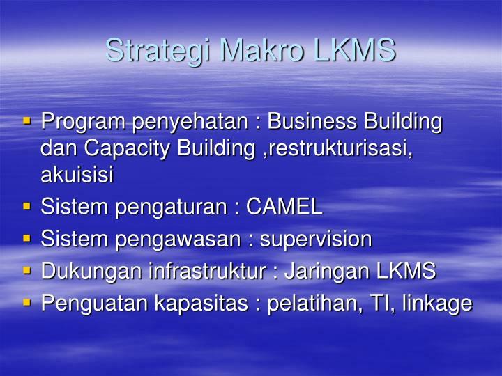 Strategi Makro LKMS
