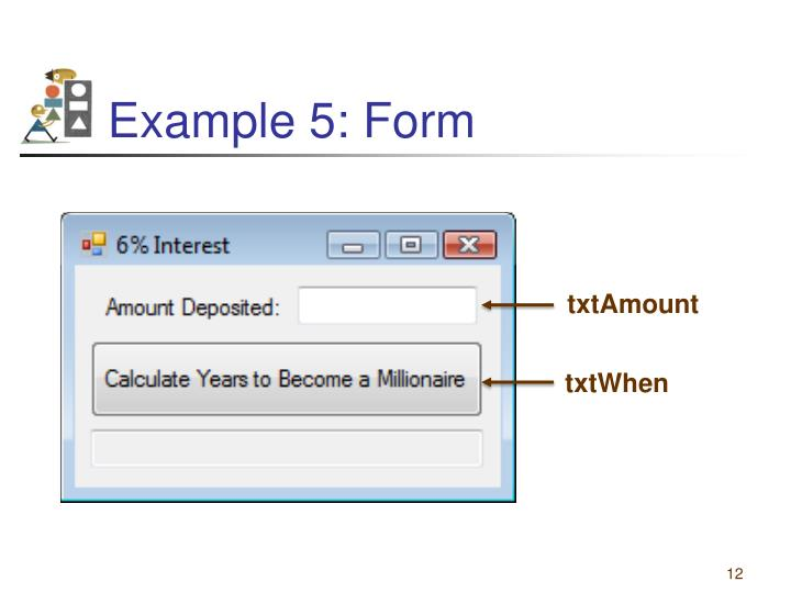 Example 5: Form