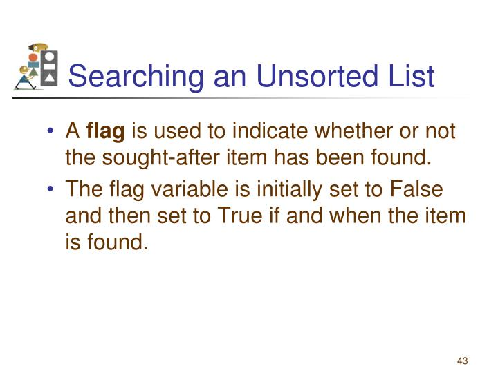 Searching an Unsorted List