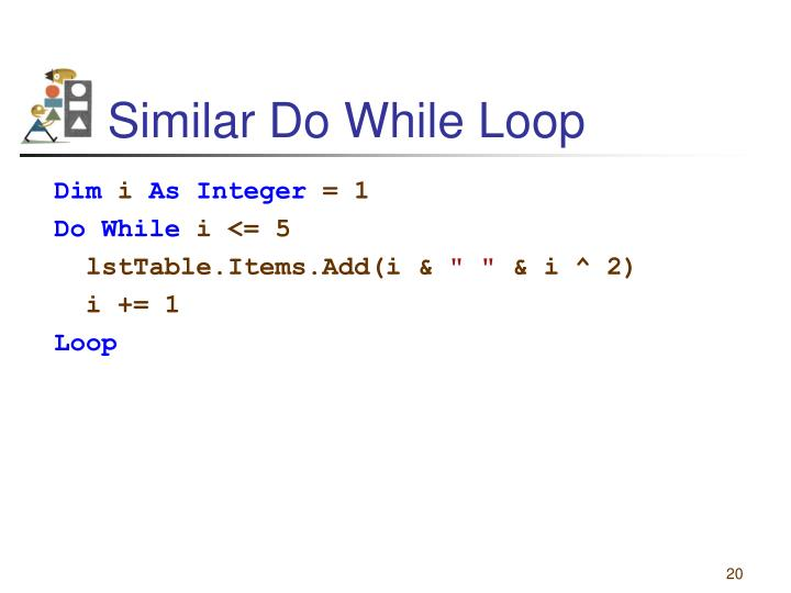 Similar Do While Loop