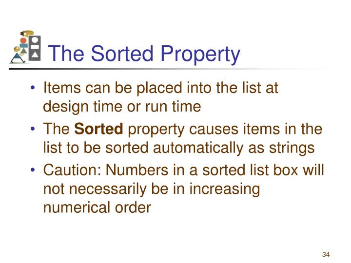The Sorted Property