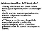 what security problems do vpns not solve
