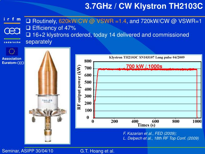 700 kW / 1000s