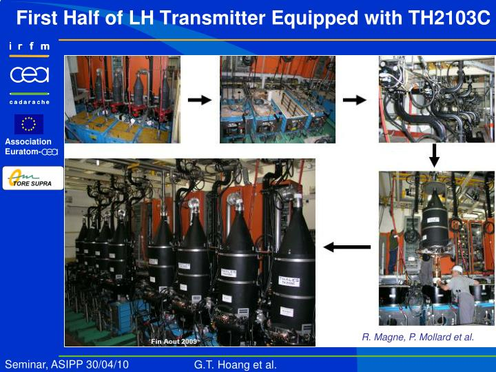 First Half of LH Transmitter Equipped with TH2103C