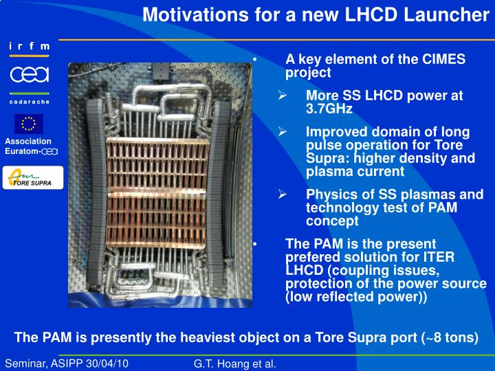 Motivations for a new LHCD Launcher