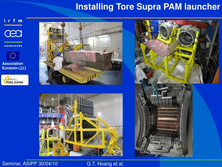 Installing Tore Supra PAM launcher