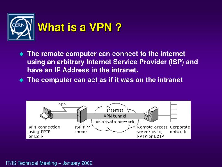 What is a VPN ?