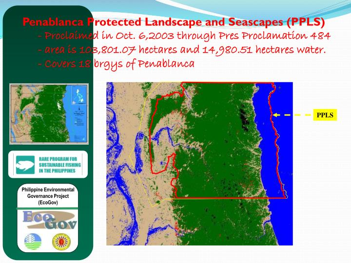 Penablanca Protected Landscape and Seascapes (PPLS)