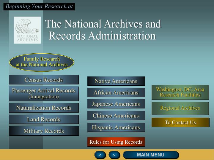 The National Archives and