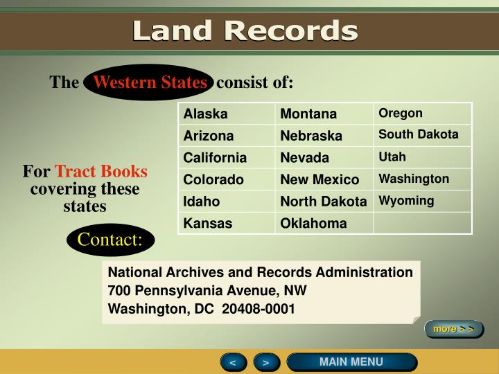 Land Records