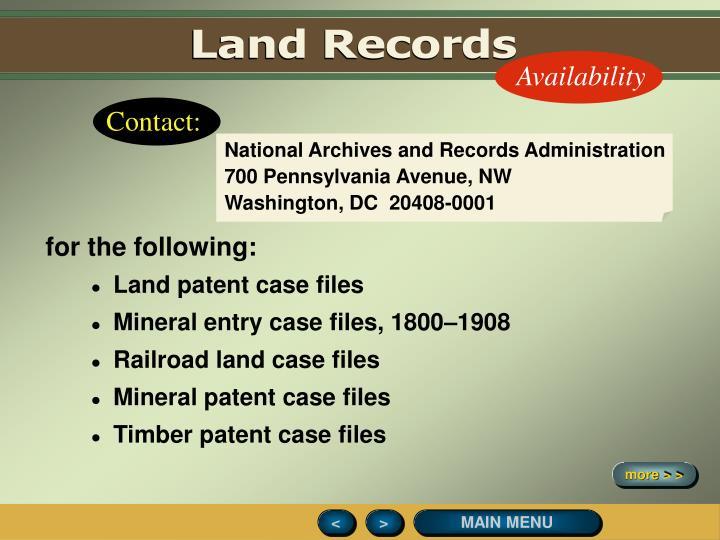 Land Records