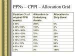 ppns cppi allocation grid