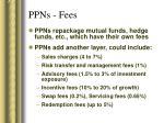 ppns fees