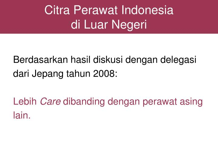 Citra Perawat Indonesia