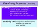 five caring processes lanjutan