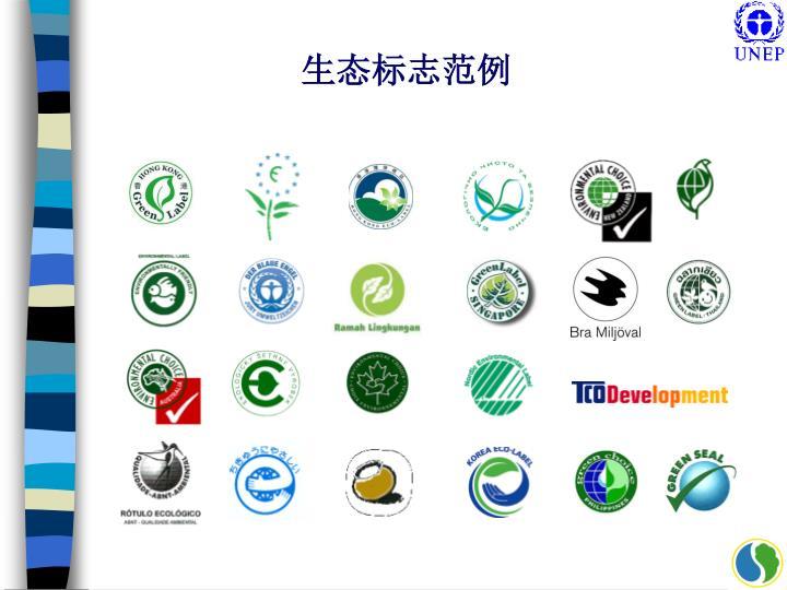生态标志范例