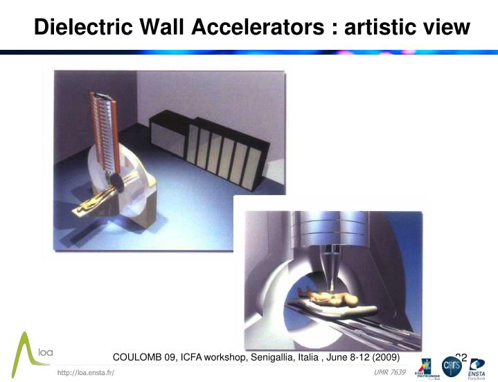 Dielectric Wall Accelerators : artistic view