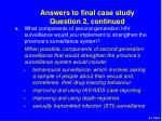 answers to final case study question 2 continued