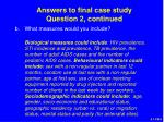 answers to final case study question 2 continued1