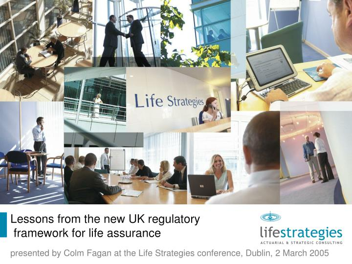 Lessons from the new UK regulatory
